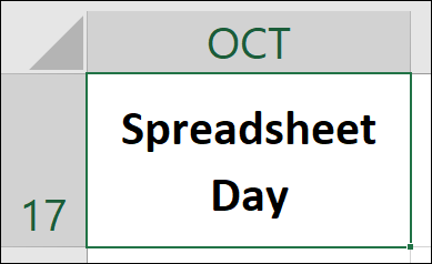 Spreadsheet Day Logo