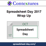 Spreadsheet Day 2017 Wrap Up